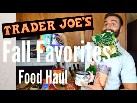 Trader Joes Haul| The Usual and Trying New Things