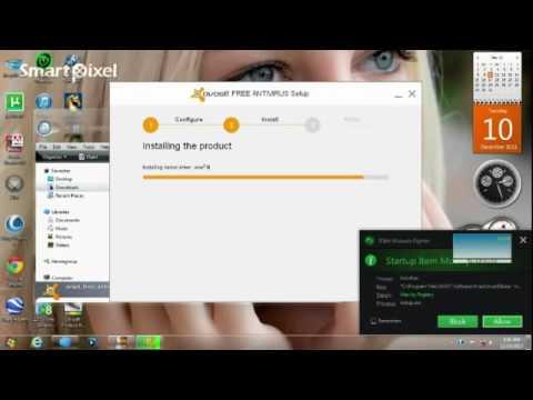 Avast Free Anti Virus 2014 expired 2095 install offline