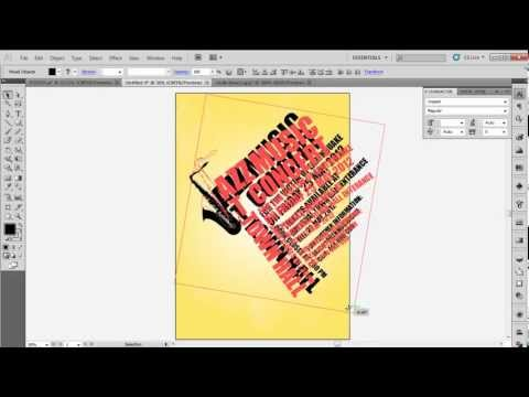 How to Design a Typographic Poster in Adobe illustrator CS5