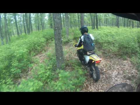 Kawasaki Versys 650 on Single Track