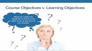 3.1 - Fundamentals of Course and Learning Objectives