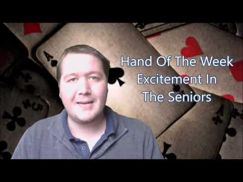 Excitement In The Seniors - Bridge Hand Of The Week