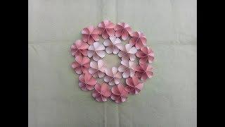 Easy Room Decor Bunga Dari Kertas Origami