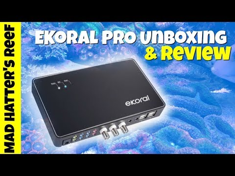 eKoral Pro Aquarium Controller Unboxing and Setup