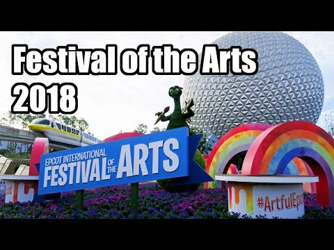 Festival of the Arts, Epcot Walt Disney World Trip Trailer 2018!