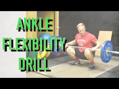 Ankle Flexibility Drill : The Lifting Fix