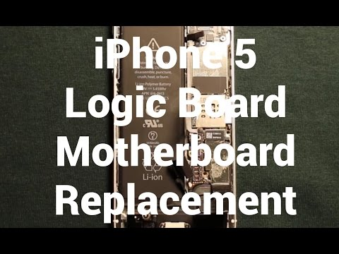 iPhone 5 Logic Motherboard Replacement How To Change