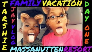 Day 1 Massanutten Resort 2018 |tarshie Jay Vlog|