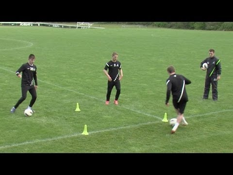 Master ball control | Soccer training drills | Nike Academy