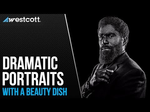 Dramatic Portraits using a Beauty Dish with Joel Grimes