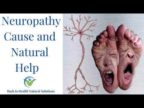 Neuropathy: The Cause & Natural Treatment