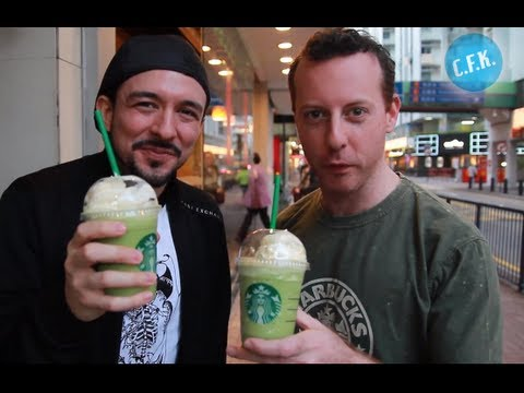 Starbucks Green Tea Frappuccino - Crazy From Kong Review !!