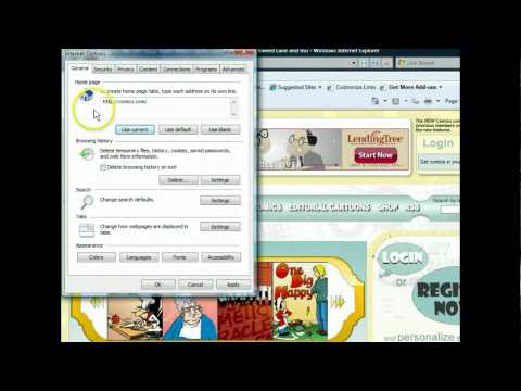 Internet Explorer 8 - Work with Internet Options - Internet Browsers