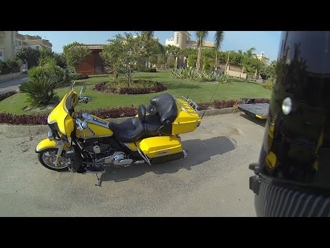 Harley-Davidson Electra Glide Ultra Classic CVO walk around, start & short ride