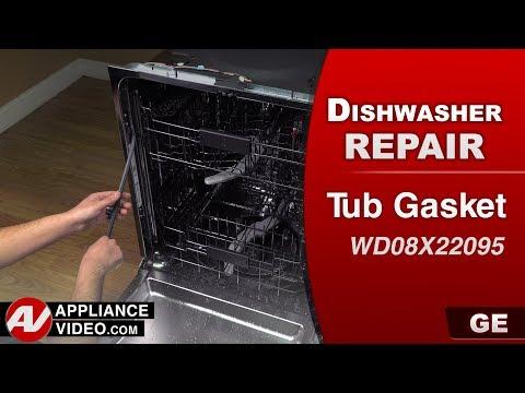 GE Dishwasher - Tub Door Gasket issues - Diagnostic & Repair