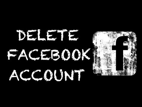 How To Delete FACEBOOK Account Permanently, Step By Step Tutorial -Updated