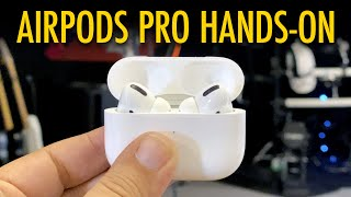 AirPods Pro Hands On! (vs. AirPods 2 & PowerBeats Pro!)