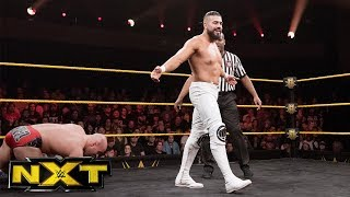 "Fabian Aichner vs. Andrade ""Cien"" Almas: WWE NXT, Dec. 13, 2017"