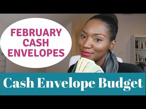 February 2018 Cash Envelopes   Cash Envelope Budgeting   Journey to Financial Freedom