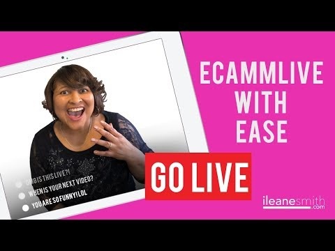 Go Live on YouTube with EcammLive (No Stream Key Required)