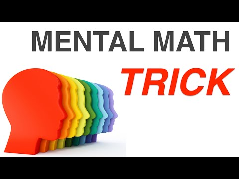 How to multiply in your Head : Mental Math Tricks