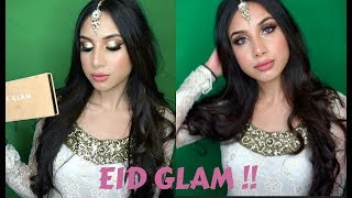 GET READY WITH ME: Glittery EID Makeup !