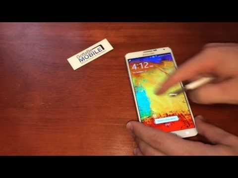 How to use Action Memo on Lock Screen with Galaxy Note 3