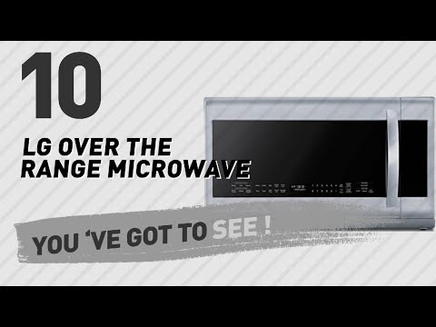 Lg Over The Range Microwave // New & Popular 2017