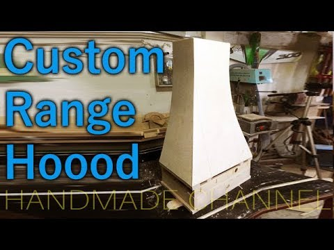 My range hood build. Part One - The Frame. Woodworking on Handmade Channel