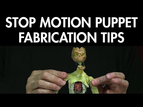 Stop Motion Animation: Puppet Fabrication Tips - FREE CHAPTER