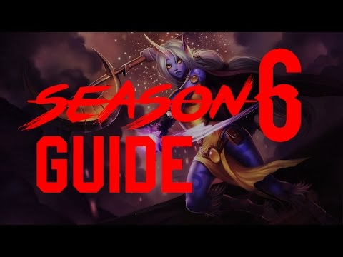 (Season 6) Soraka guide - Runes and Masteries - Build - Gameplay- League of Legends