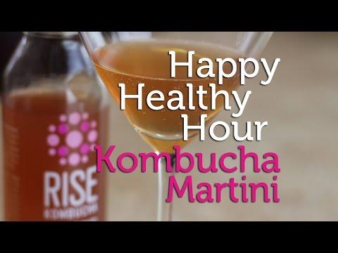 Healthy Happy Hour | The Kombucha Martini