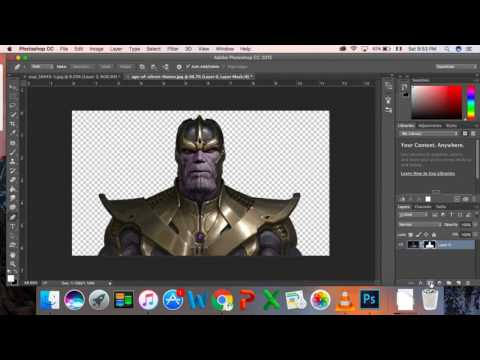 How to make movie poster by photoshop, Avenger infinity war poster.