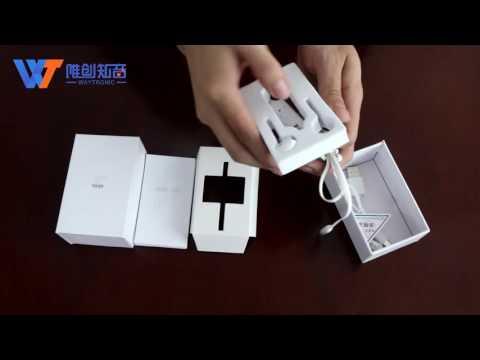 iPhone call recorder earphone-package display