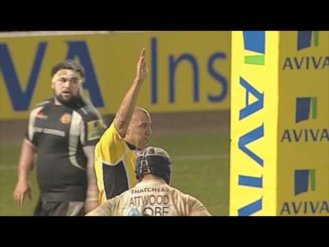 Exeter Chiefs 9-12 Bath Rugby - Aviva Premiership Rugby Highlights Round 16 | 24-02-12