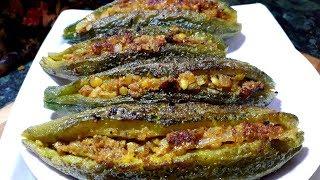 इस नए तरीके से बनाए भरवा करेले तो बड़े ही नहीं छोटे भी मांगकर खाएंगे   Karela ghar par kaise banaye