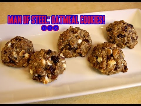 Man of Steel Oatmeal Cookies Recipe