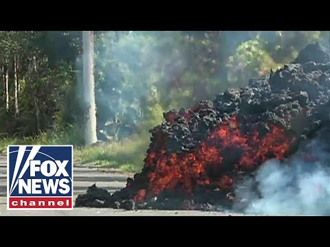 Two new lava-spewing fissures open on Hawaii's Big Island