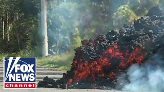 Two new lava-spewing fissures open on Hawaii