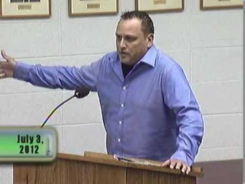 Libertarian rips into village council about property rights