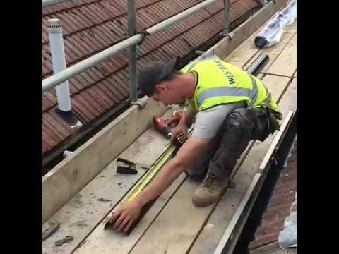 Cool gutter cutting trick