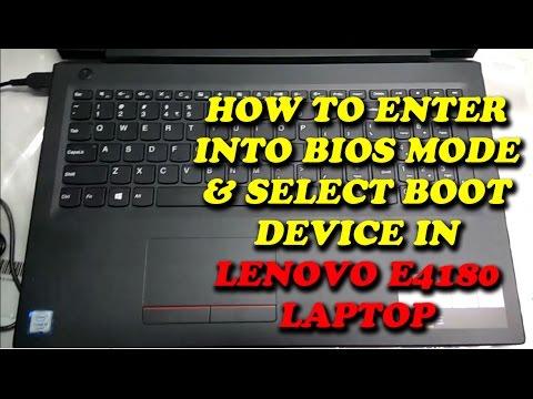 LENOVO E41-80 | BIOS MODE AND BOOT MENU