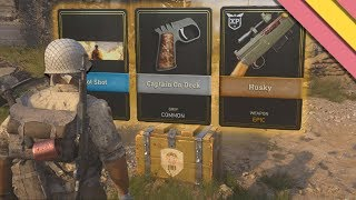 Opening My First Supply Drops | Call Of Duty World War 2 Supply Drop Opening