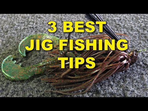 The Best Jig Fishing Tips (Because They Work!) | Bass Fishing