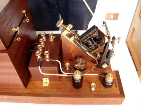 Ricevitore a coherer Marconi's Wireless Telegraph