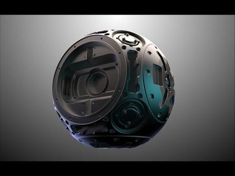 sci fi sphere in fusion 360