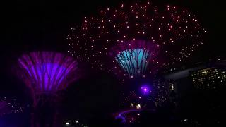 Gardens By The Bay, Singapore: Music & Light Retro Funk Show
