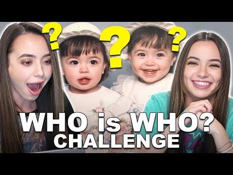Who is Who Challenge - Merrell Twins