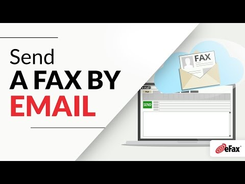 How To Send a Fax Online by Email using eFax