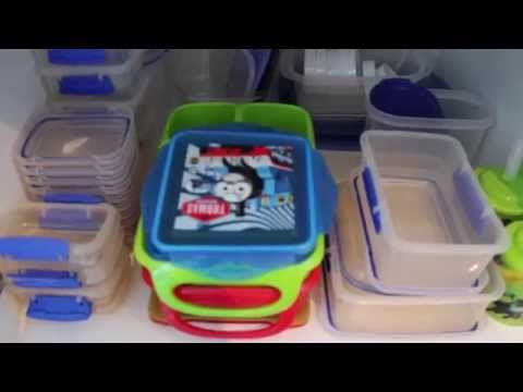 Declutter Plastic Containers || GET ORGANIZED WITH ME